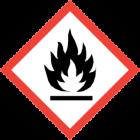 GHS-02 entzündbare Stoffe (Achtung / Gefahr)