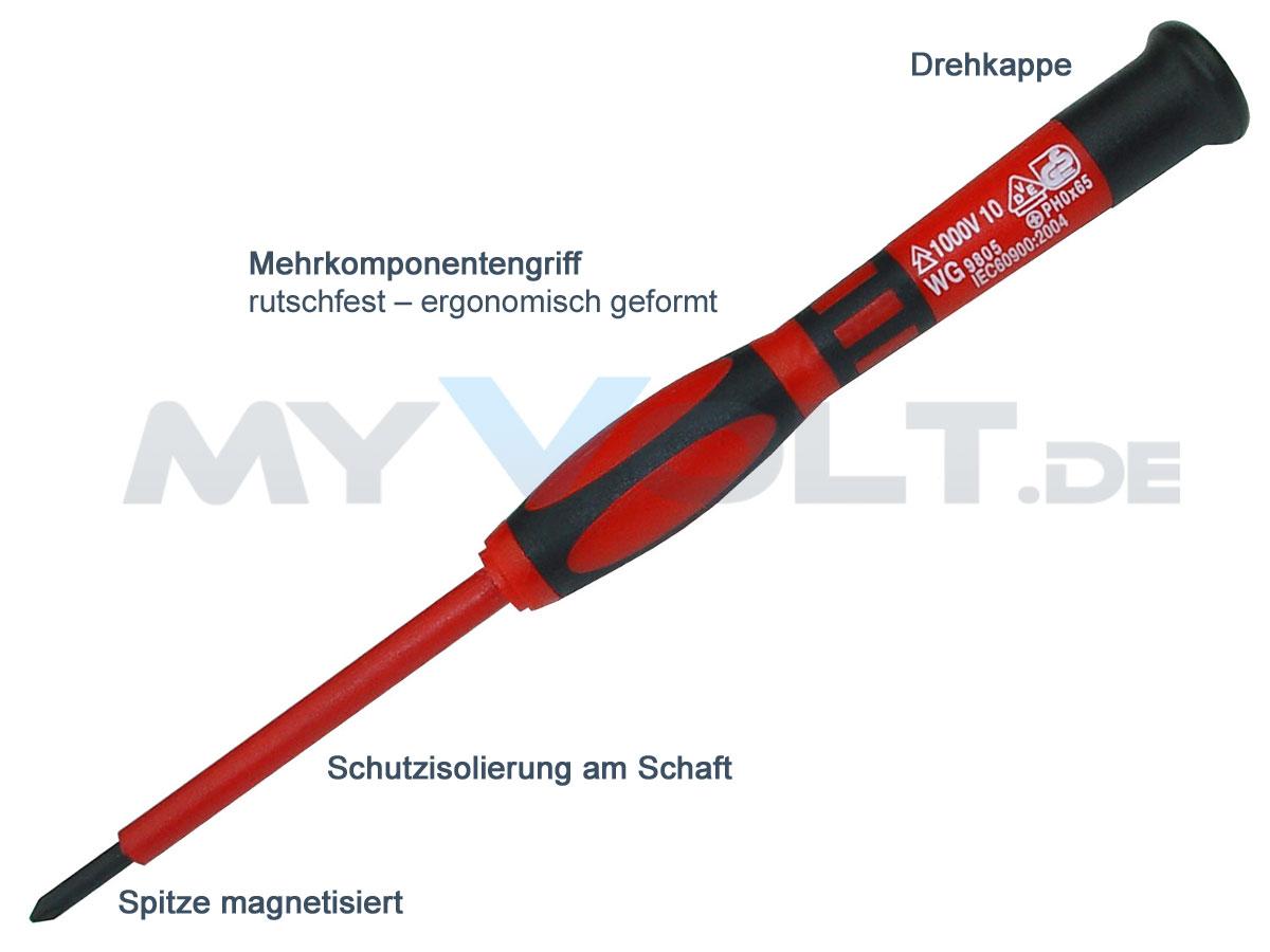 VDE-Elektro-Schraubendreher-Satz 7-teilig (FM)