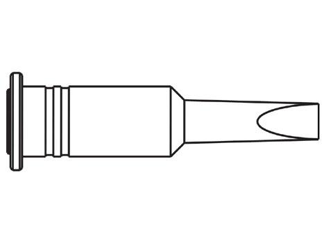 Lötspitze ERSA 0G132VN 4,8 mm meißelförmig