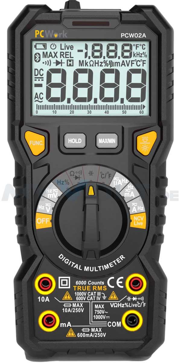 Digital-Multimeter PCWork PCW02A