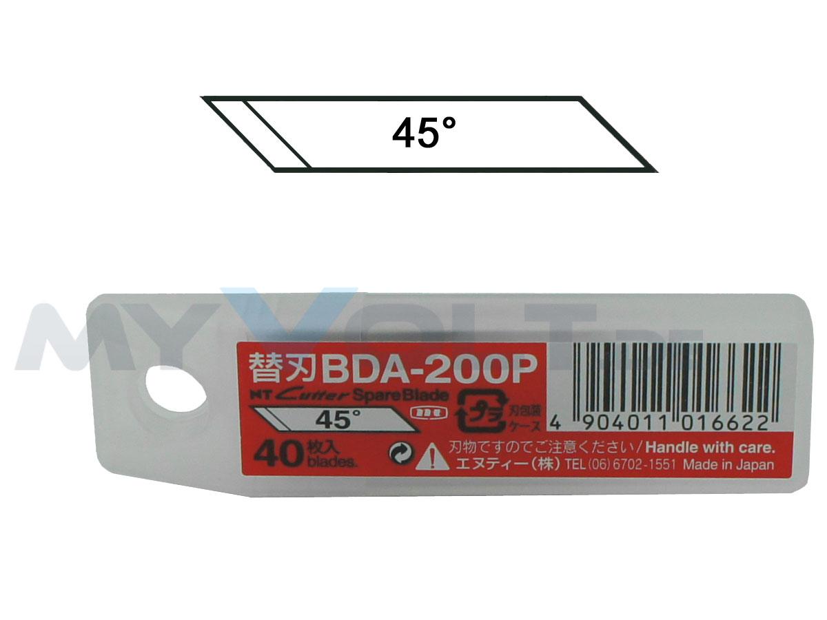 Ersatzklingen 40 Stück für Grafik-Cutter D-1000 und D-1000-GP