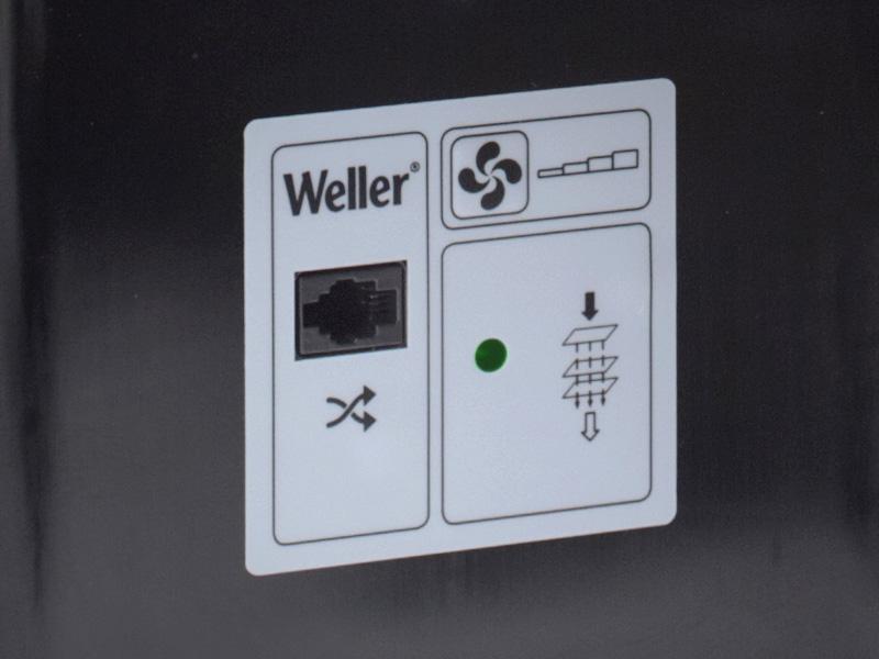 Lötrauchabsauger Weller Zero Smog EL-Kit-1 Flächenabsauggerät