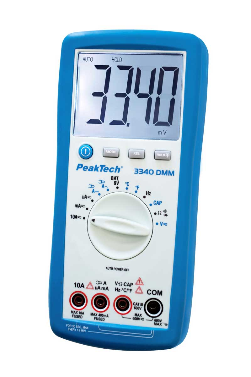 Digital-Multimeter PeakTech P-3340