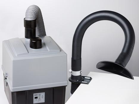 Lötrauchabsauger Weller Zero Smog TL-Kit-1-FN Flächenabsauggerät