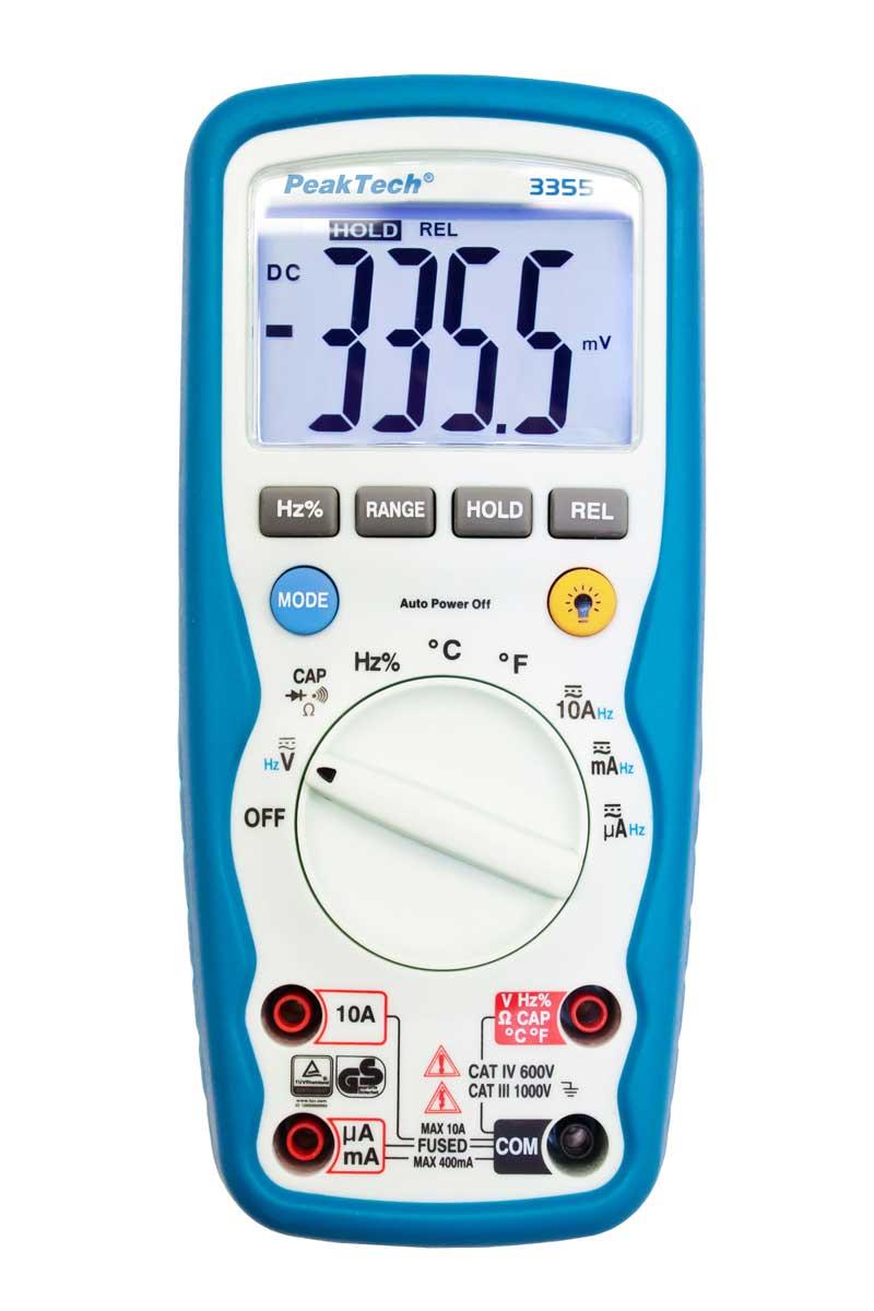Digital-Multimeter PeakTech P-3355
