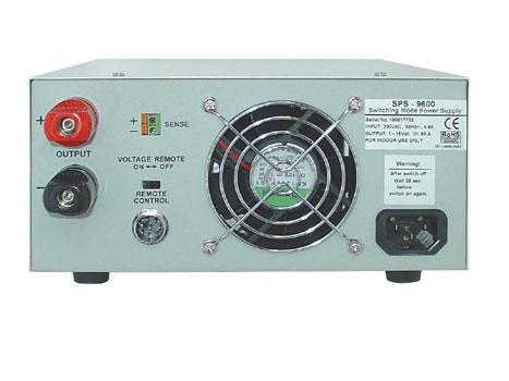 Labornetzgerät 1-30V / 30A - Schaltnetzteil SPS-9602