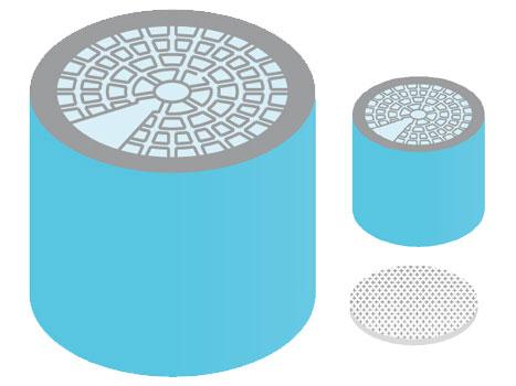 Kompaktfilter für Weller WFE und WFE-P