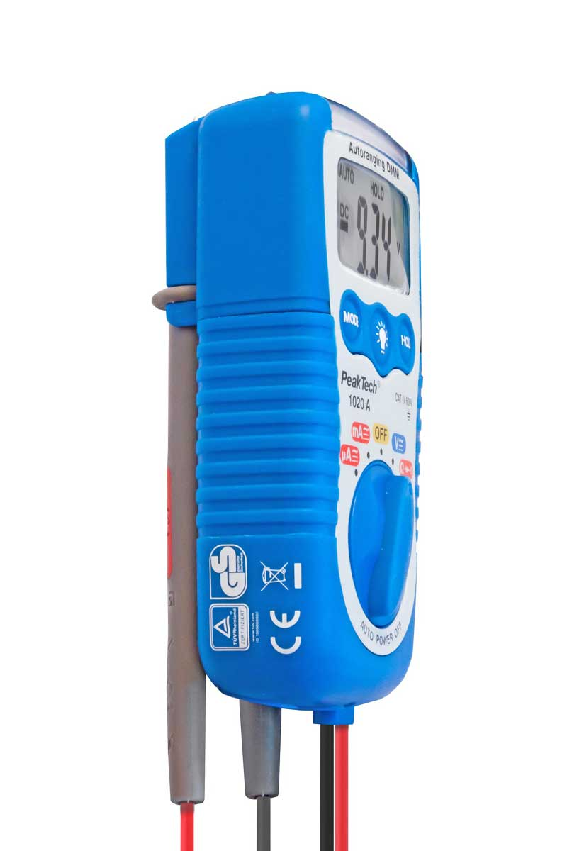 Digital-Multimeter PeakTech P-1020A - 3 in 1 Tester