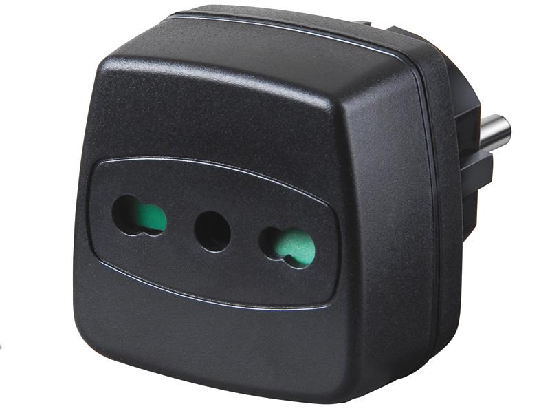 Reiseadapter - Steckadapter von Brennenstuhl  Italien