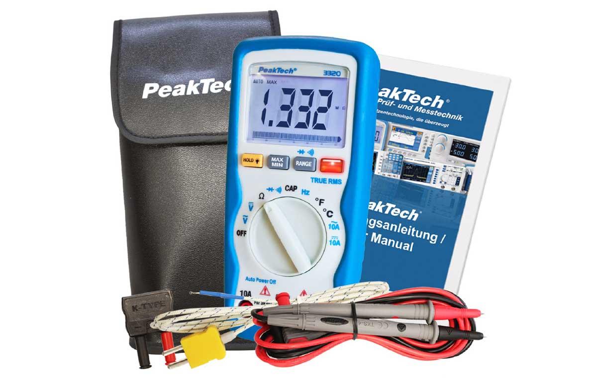 Digital-Multimeter PeakTech P-3320