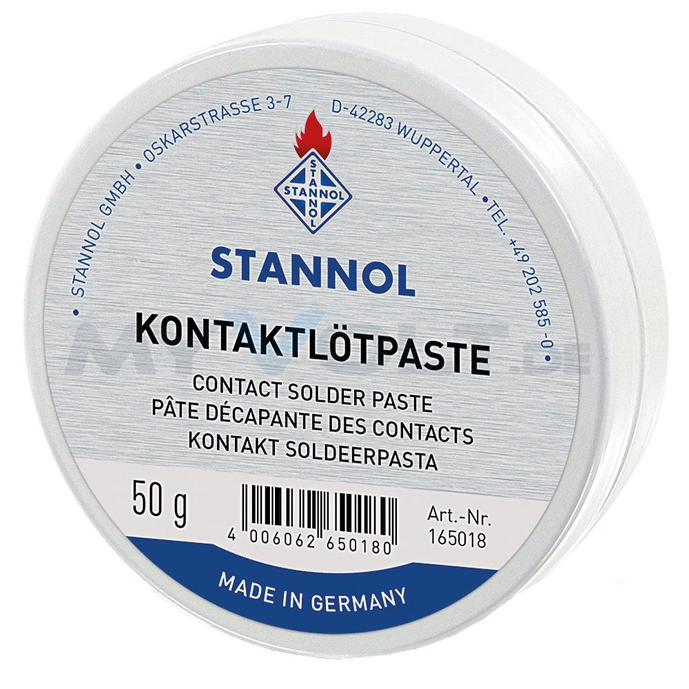 Stannol Kontaktlötpaste  F-SW 26  in 50g Dose