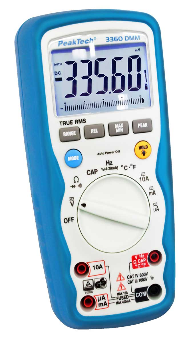 Digital-Multimeter PeakTech P-3360