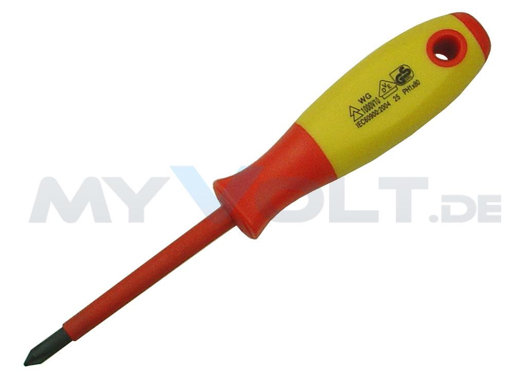 VDE-Elektriker-Schraubendreher-Satz mit Spannungsprüfer