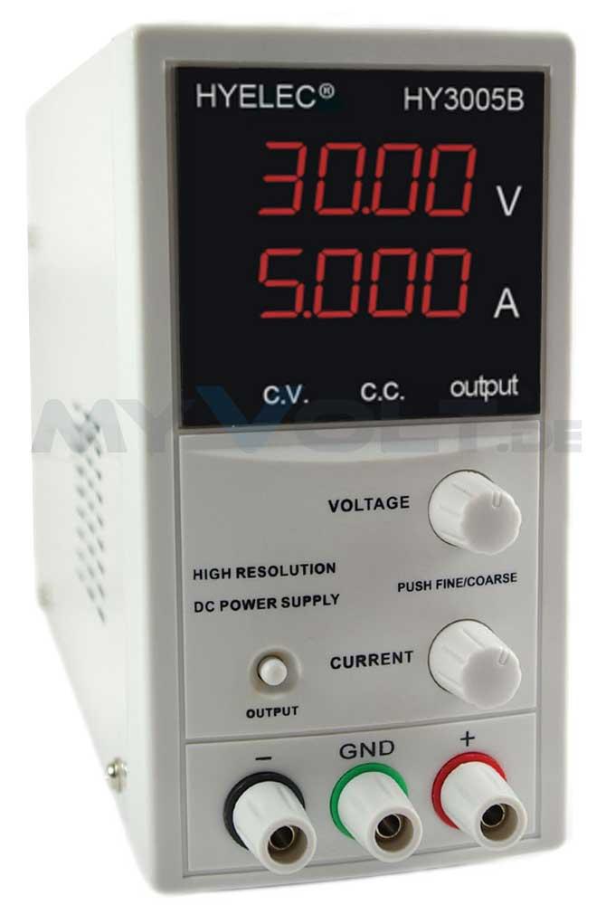 Labornetzgerät 0-50V 0-3A LC-Display HY5003B