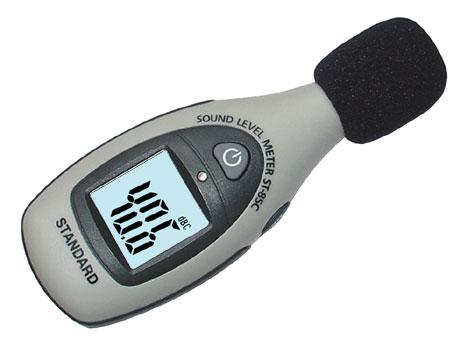 Digital-Schallpegelmessgerät Mini-ST-85C