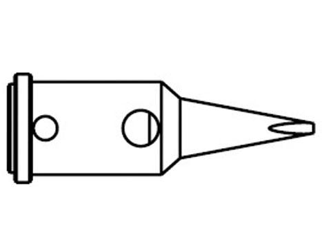Lötspitze ERSA 0G072CN 1,0mm meißelförmig