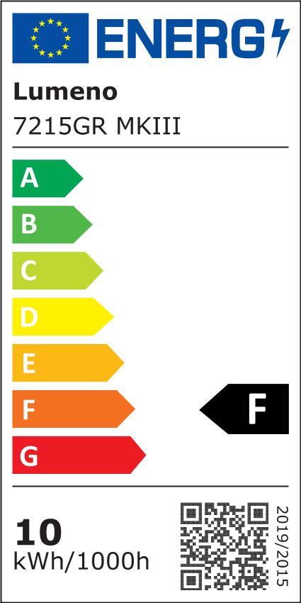 LED Lupenleuchte 96 LEDs Lumeno 5 Dioptrien (grau) - Lupenlampe