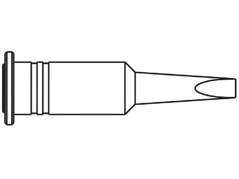 Lötspitze ERSA 0G132AN 3,2 mm meißelförmig