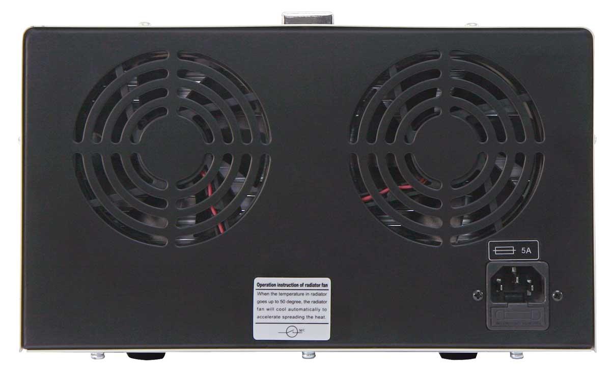 Labornetzgerät 2x 0-30V / 0-5A LCD-Anzeige Digi-302-05