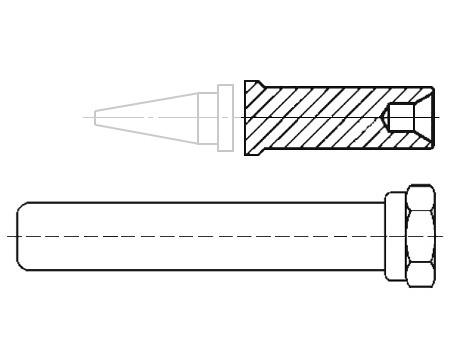 Lötspitzen-Adapter-Set Weller ET/LT