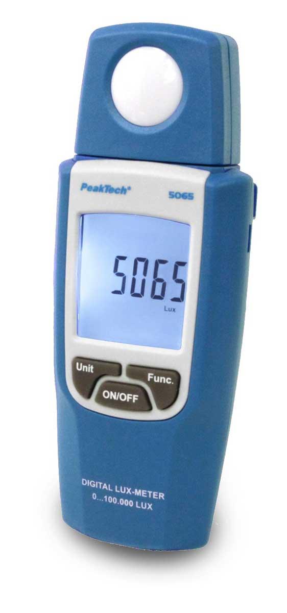 Lichtstärke-Messgerät PeakTech P-5065 (Lux Meter)