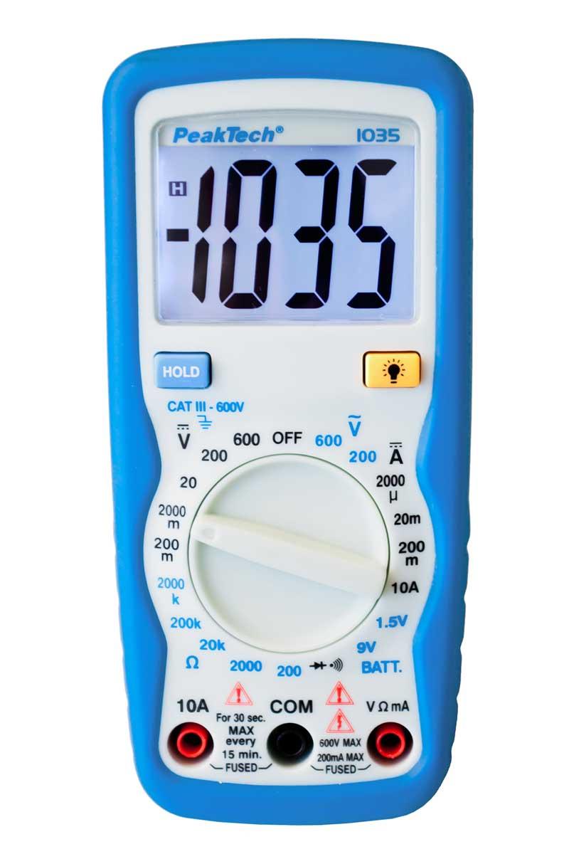 Digital-Multimeter PeakTech P-1035