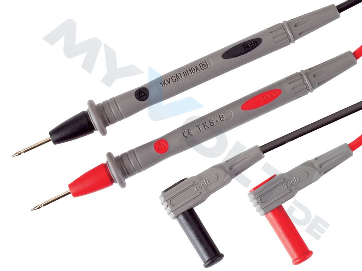 Messleitungen-Set mit 2mm Prüfspitzen