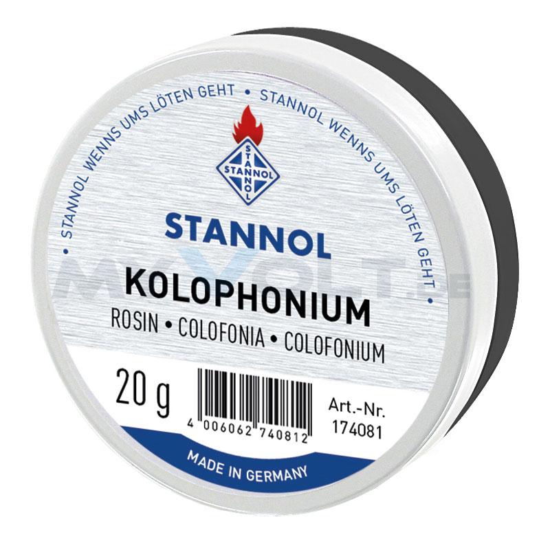 Stannol Kolophonium in 20g Dose