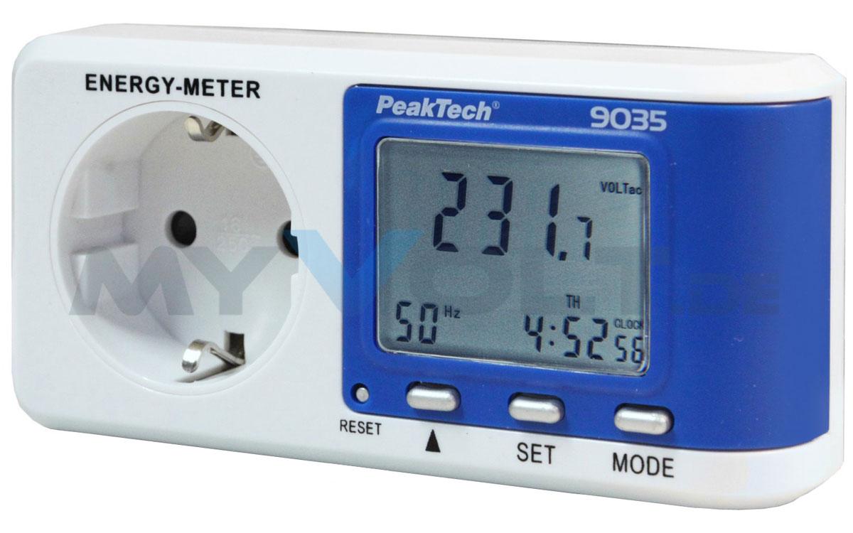 Leistungsmesser PeakTech P-9035 Energiekostenmessgerät