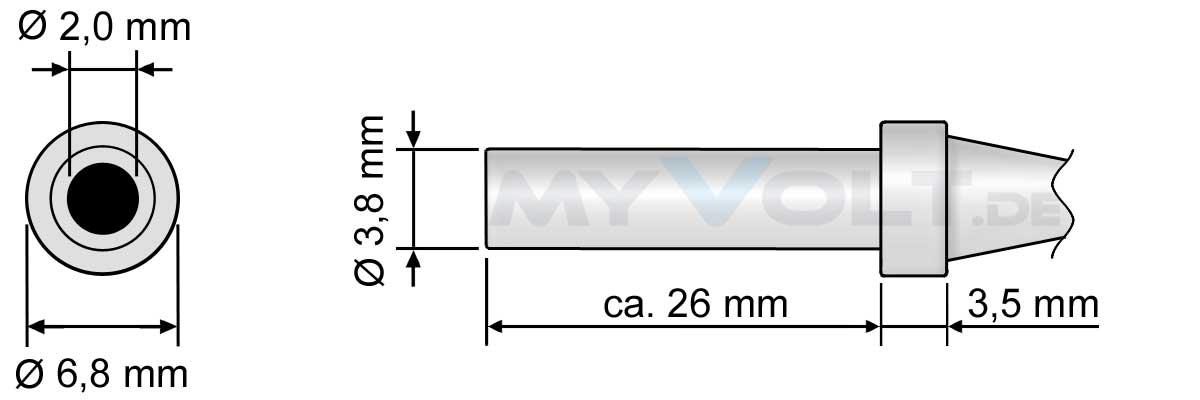 Lötspitze 3,0mm (angeschrägt) für ZD-415, ZD-912, ZD-916, ZD-917, ZD-981, ZD-982 und ZD-987