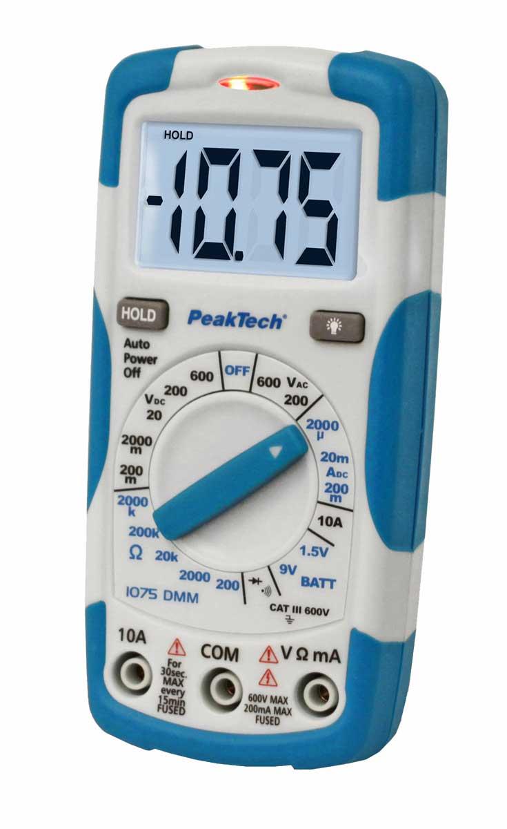 Digital-Multimeter PeakTech P-1075