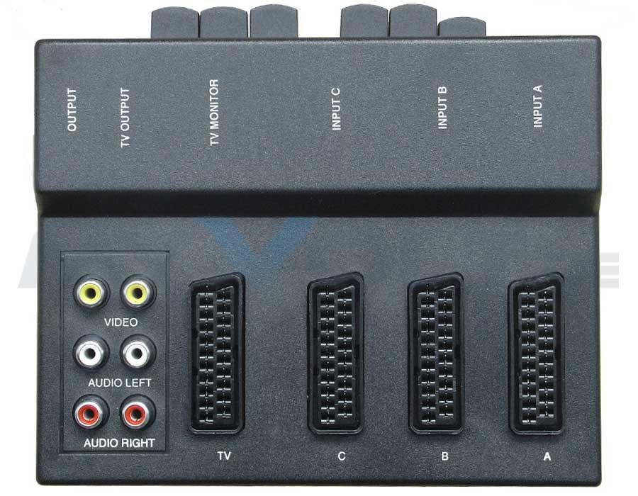 Scart-Video-Umschaltbox