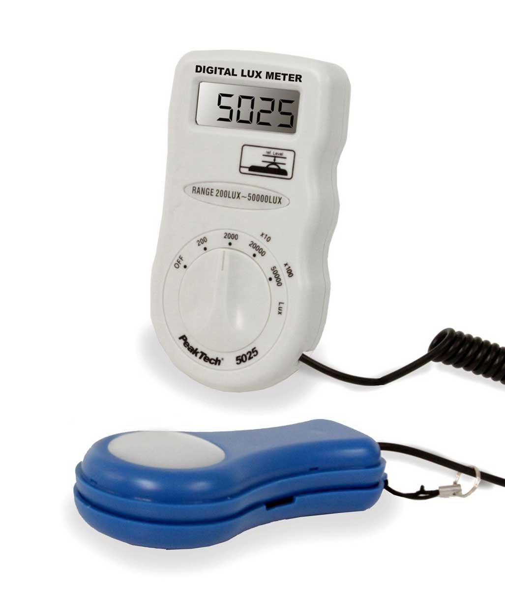 Lichtstäke-Messgerät PeakTech P-5025 (Lux-Meter)
