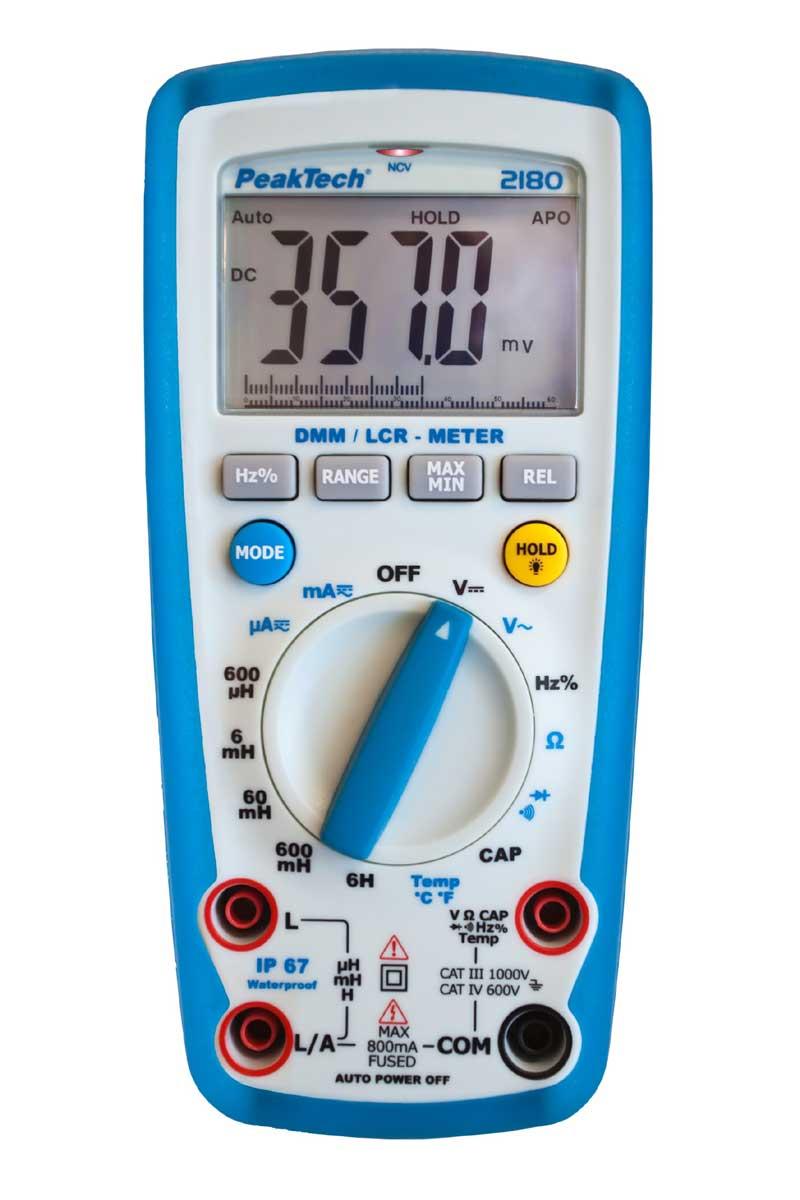Digital Multimeter PeakTech P-2180 LCR-Meter