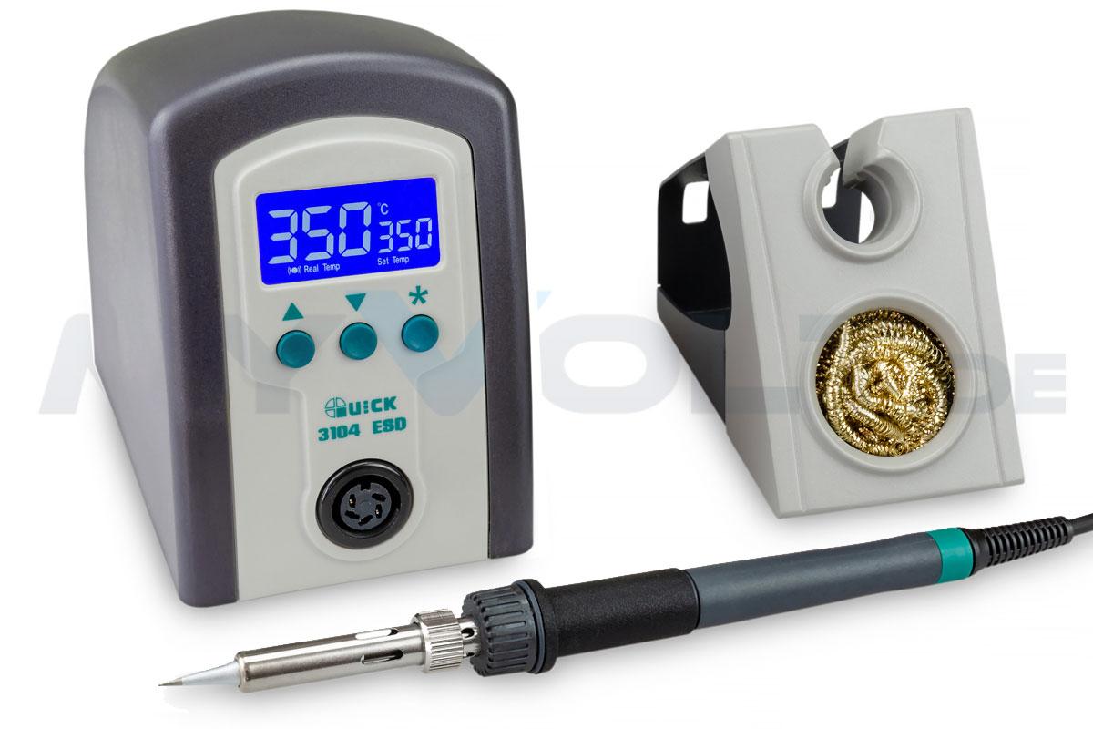 Digitale Lötstation Quick 3104 ESD - 80 Watt