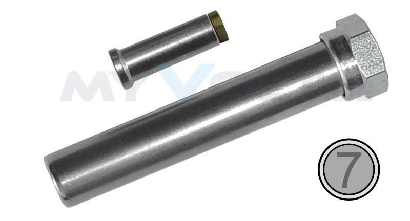 Lötspitzen-Adapter-Set Weller PT-7 / LT (370°C)