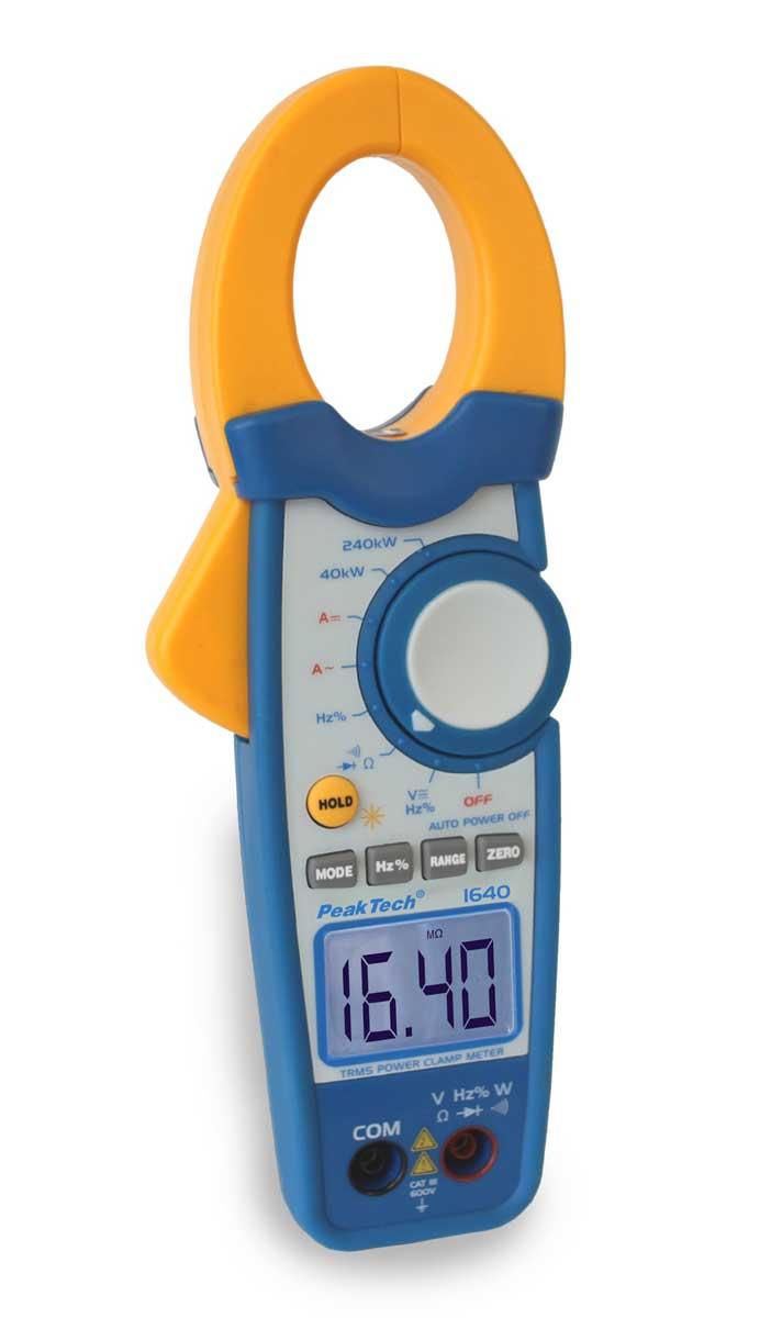Digital-Zangenmultimeter PeakTech P-1640