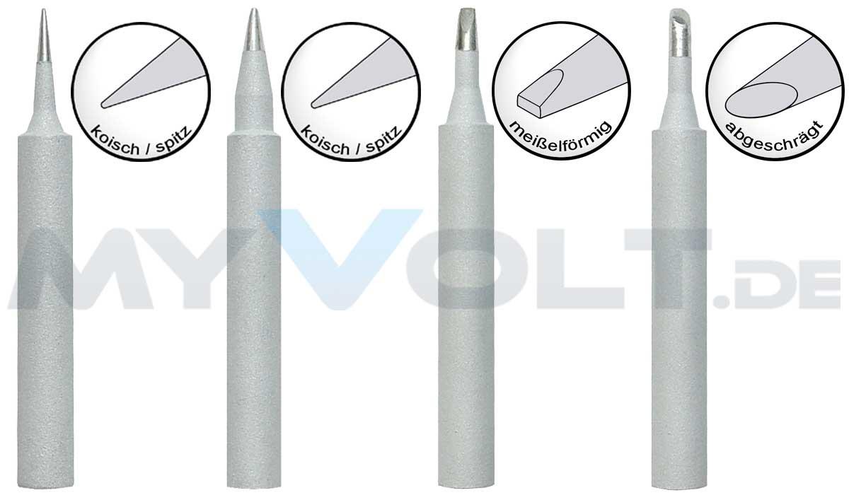 Lötspitzen-Set für LS-1000 , ZD-937, ZD-929C - LS-450