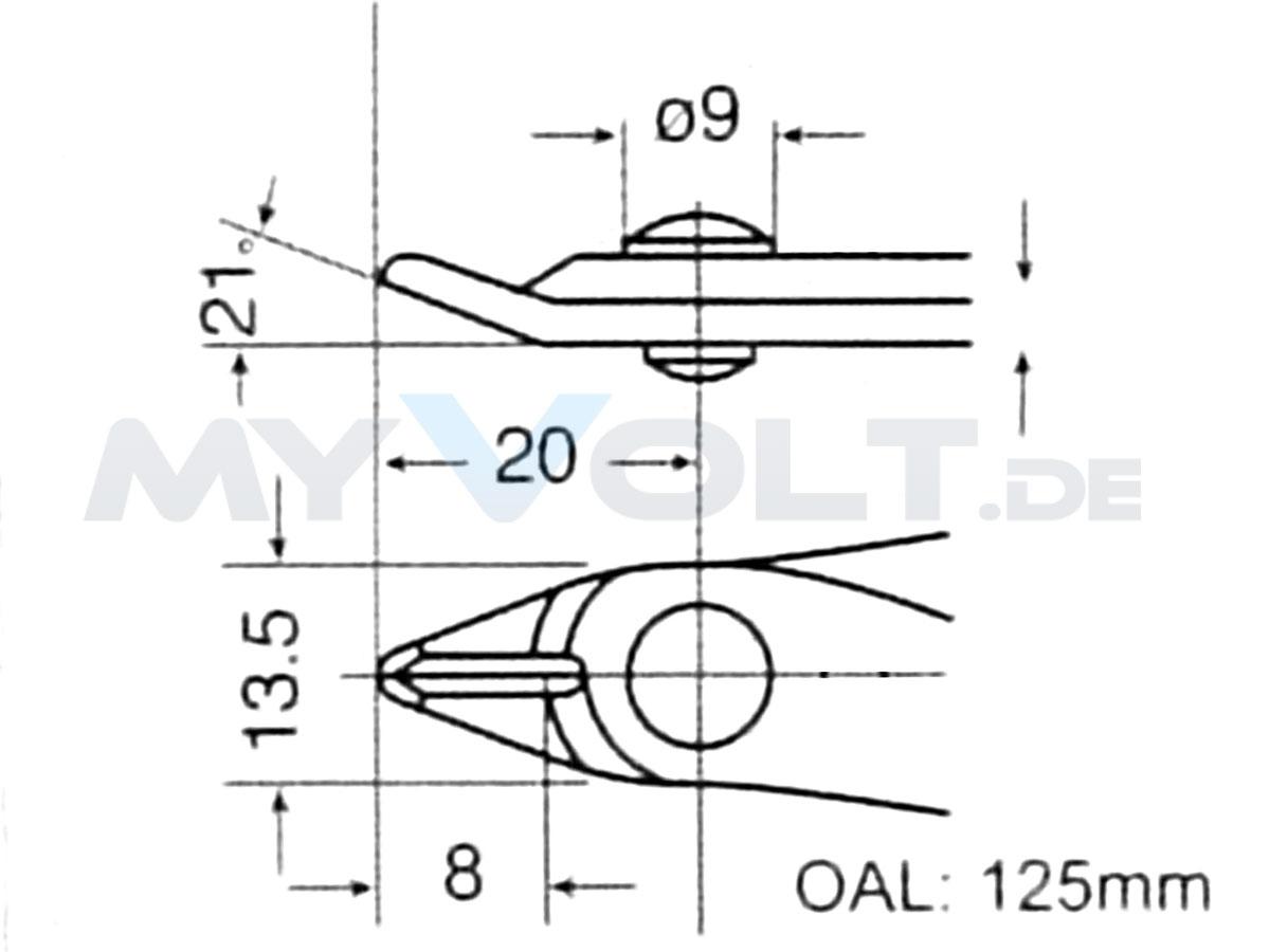 ESD Elektronikschneider Pro'sKit ohne Wate