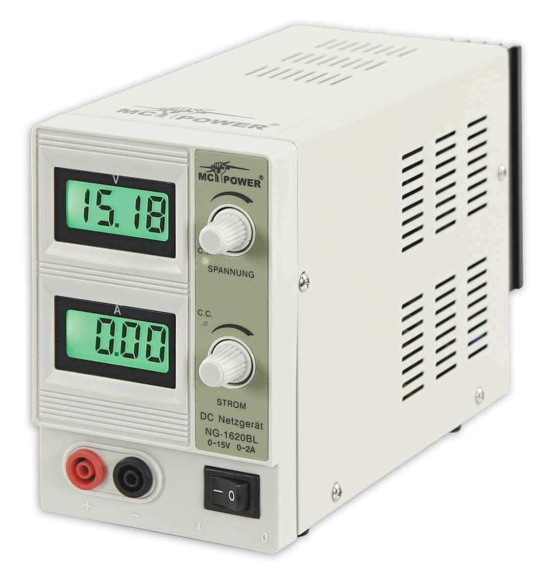 Labornetzgerät 0-15V 2A LC-Display