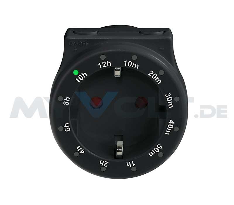 Kurzzeit Countdown Timer Zeitschaltuhr 230V Steckdose (Kurzzeitschaltuhr)