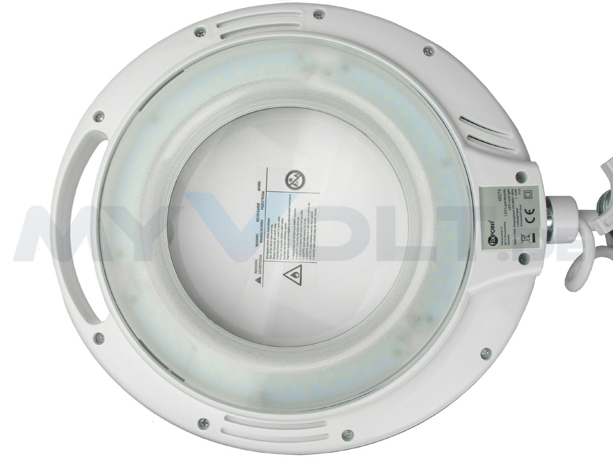 LED-Lupenleuchte in 6 Stufen dimmbar 3 Dioptrien mit 90-LEDs