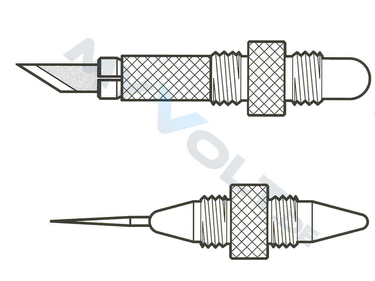 Grafik-Cutter / Mehrzweck-Messer in Stiftform D-1000-GP