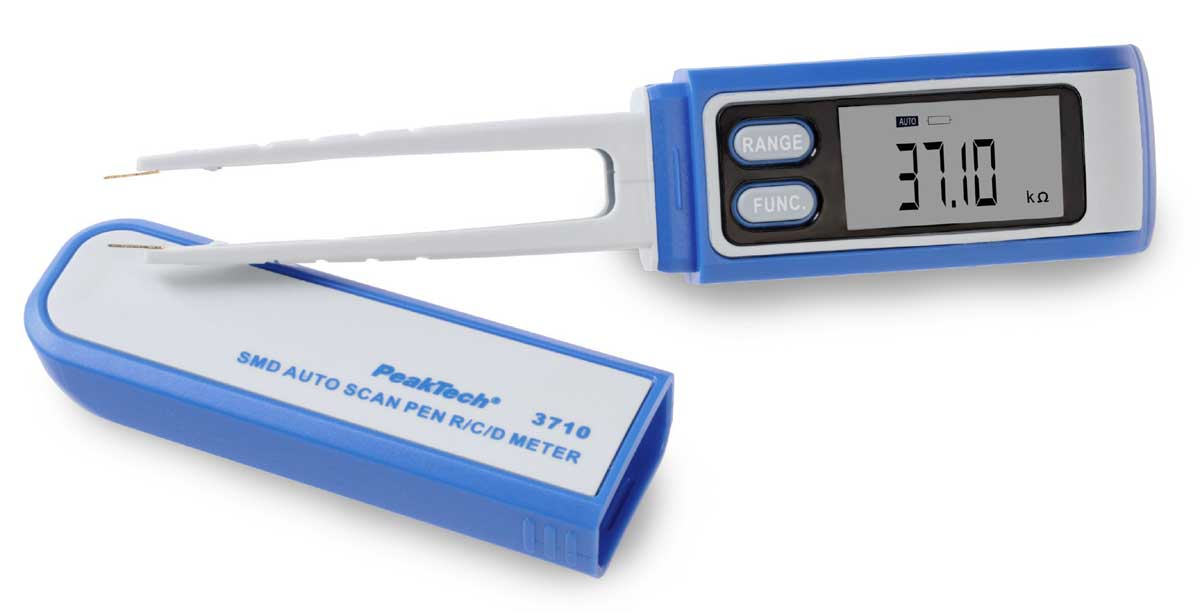 Digital-SMD-Pinzetten-Multimeter PeakTech P-3710