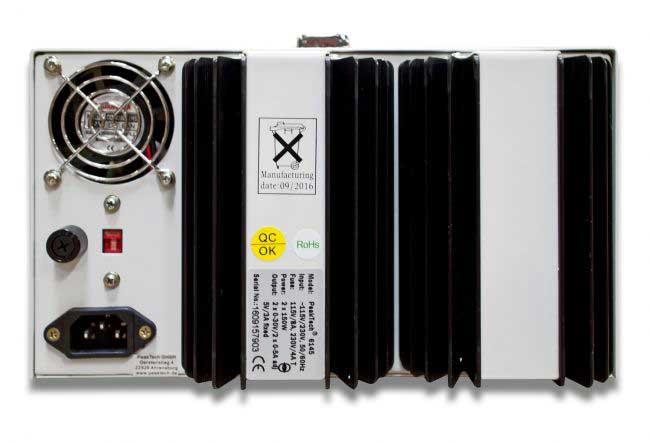Labornetzgerät 2x 30V 5A LED PeakTech P-6145