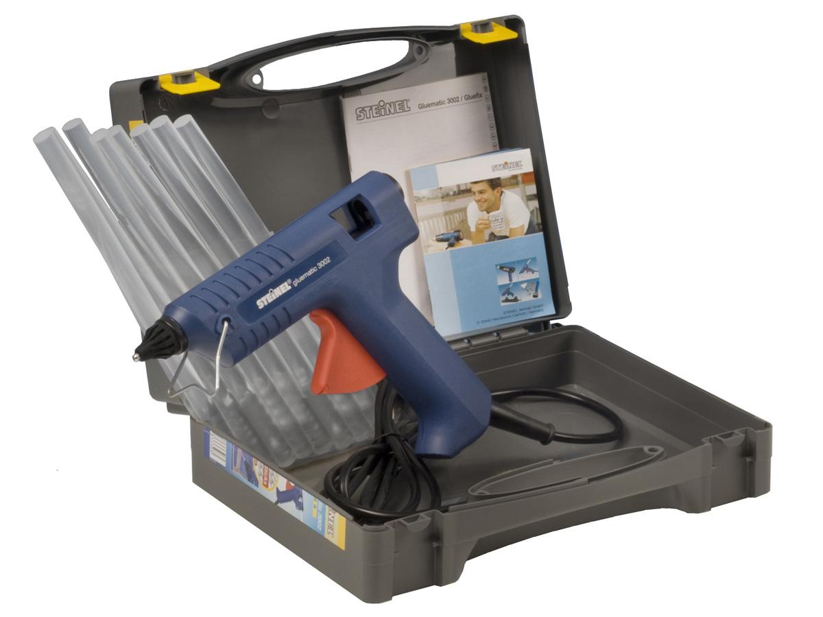 Elektronische Heißklebepistole Steinel Gluematic 3002 mit Koffer
