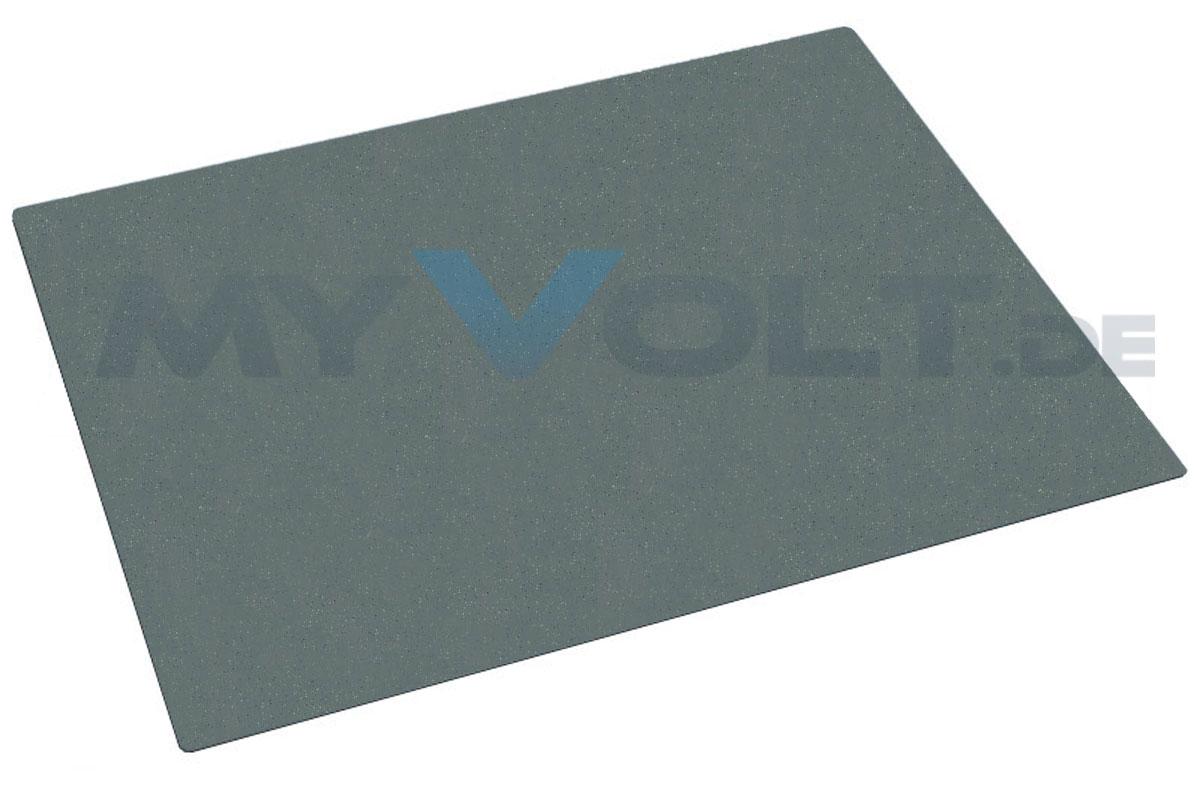 ESD-Bodenmatte 1200x 1500x 3,5mm mit 2x 10mm Druckknöpfen