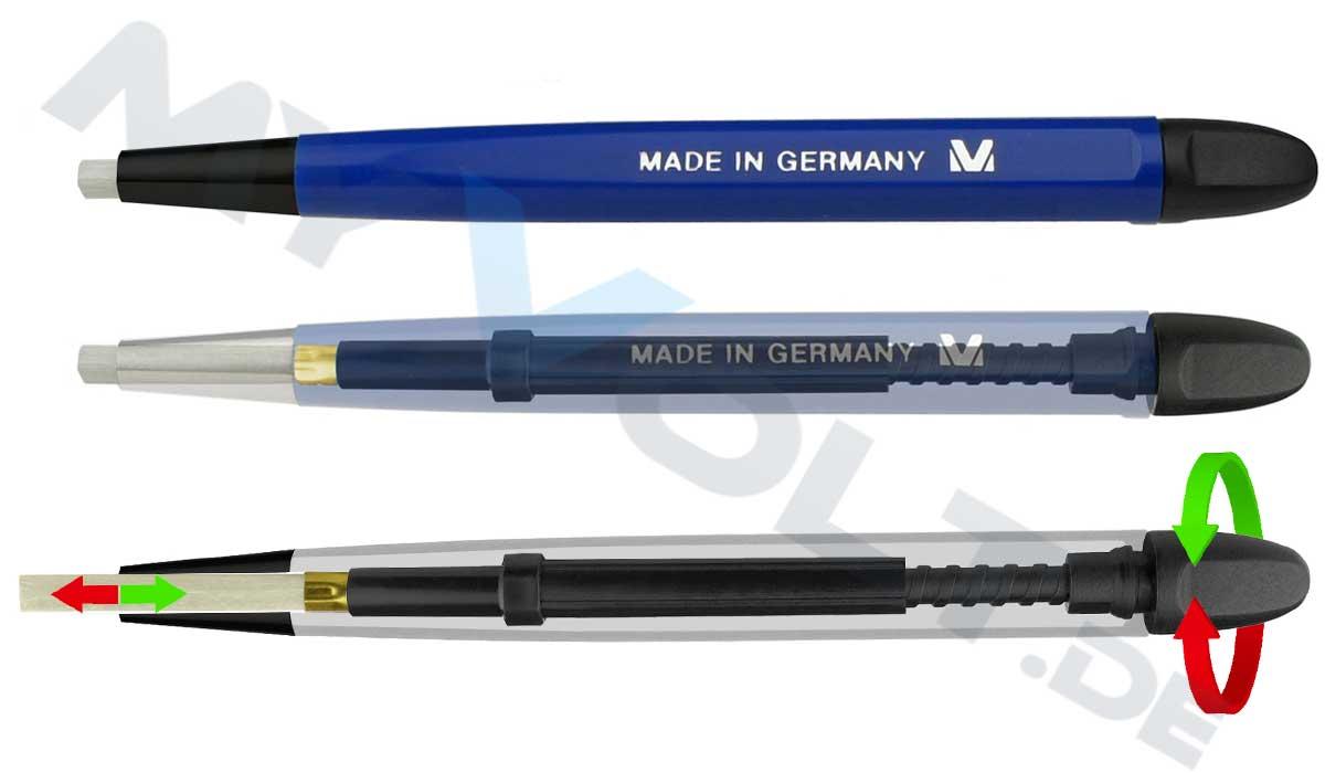 Glasfaserstift / Glasradierer MV-Tools mit Kunststoffspitze