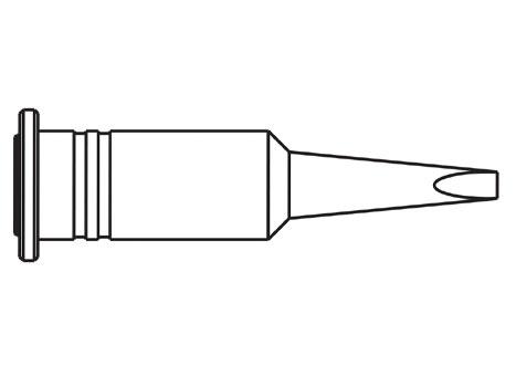 Lötspitze ERSA 0G132KN 2,4 mm meißelförmig